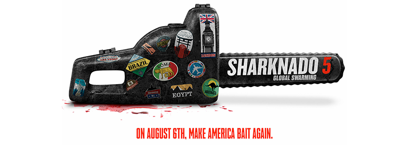 Syfy estrena Sharknado 5 en Latinoamérica