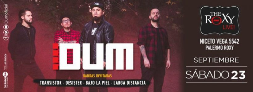 """Entrevista exclusiva con Dum: """"Tratamos de ser íntegros tanto en la música como en el mensaje"""""""