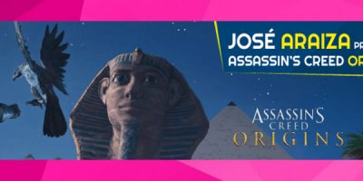 José Araiza, productor de Assassin ´s Creed Origins visitará Argentina Game Show 2017