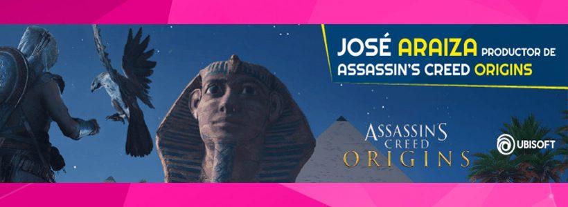 José Araiza, productor de Assassin ´s Creed Origins visitará Argentina Game Show 2017
