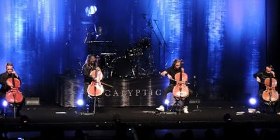 Review: Apocalyptica – Plays Metallica by Four Cellos – en Teatro Coliseo (07-12-2017)