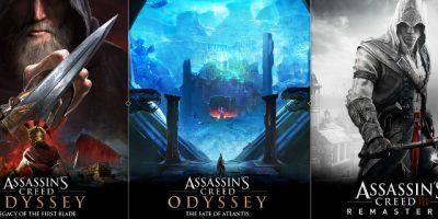 Conocé el contenido post lanzamiento para Assassin's Creed Odyssey