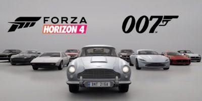 Microsoft presenta novedades para Forza Horizon 4 como el paquete Best of Bond Car + Trailer