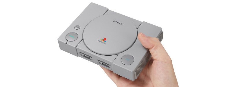 Anuncian PlayStation Classic para diciembre con 20 juegos cargados. Detalles, fotos y trailer