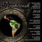 [Recital] Nightwish en Estadio Malvinas Argentinas – Tour Decades