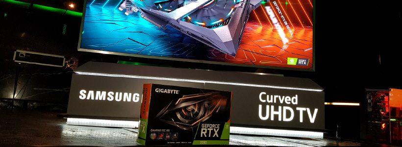 Gigabyte y NVIDIA celebraron la llegada de la nueva generación de placas de video GeForce RTX