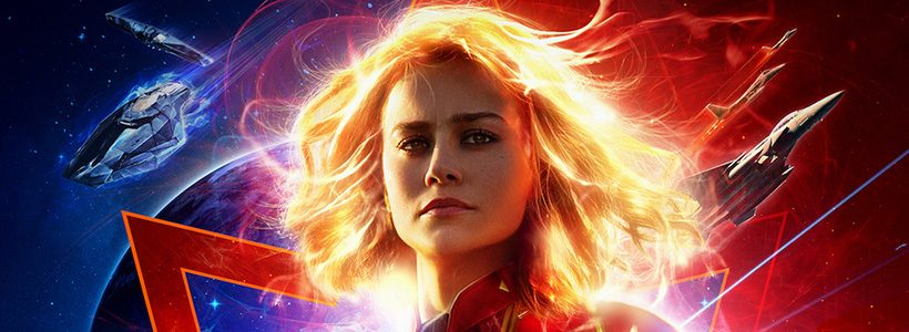 Nuevos trailer y poster de Captain Marvel