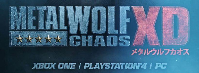 Metal Wolf Chaos XD llega en agosto