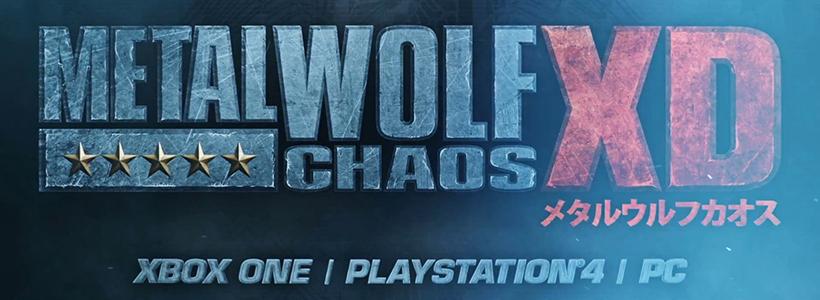 Metal Wolf Chaos XD fecha de salida01