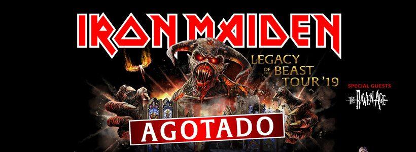 Iron Maiden: El show de Vélez se encuentra agotado